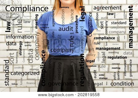 Compliance Concept. Photo For Your Design