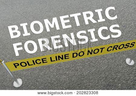 Biometric Forensics Concept