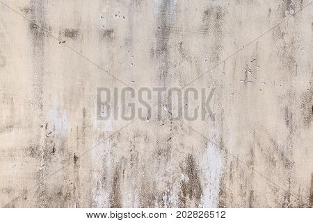 The old grey wall, grunge concrete background with natural cement texture.
