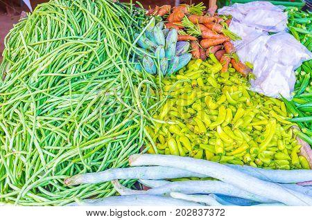 The Vegetable Stall In Sri Lanka