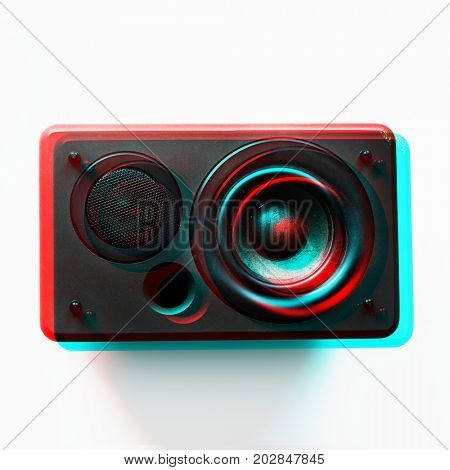 Speaker woofer musical electronic audio bass