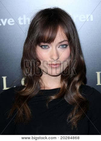 LOS ANGELES - JAN 13: Olivia Wilde arrives to Bvlgari Hosts Funraiser for Save The Children  on January 13, 2011 in Los Angeles, CA