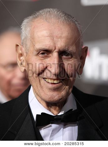 """LOS ANGELES - JAN 14:  Dr. Jack Kevorkian arrives at the 16th Annual """"Critics"""" Choice Movie Awards  on January 14, 2011 in Los Angeles, CA"""
