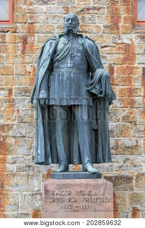 Statues At Hohenzollern Castle (burg Hohenzollern)