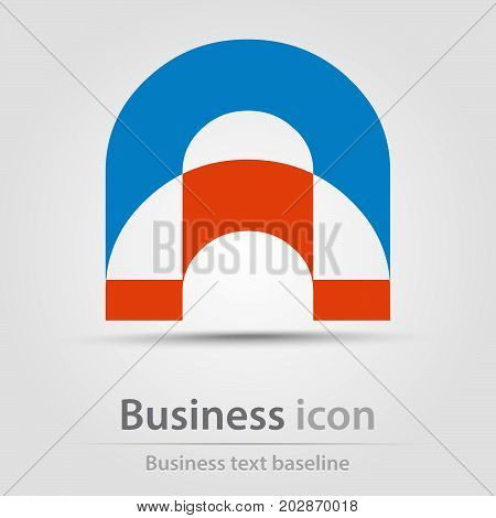 Originally created business icon with double U letters