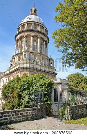 The Basilica of Notre Dame in Boulogne sur Mer, Cote d'Opale, Pas de Calais, Hauts de France