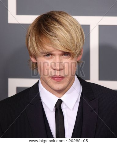 LOS ANGELES - FEB 13: Chord Overstreet arrives to the 2011 Grammy Awards on February 13, 2011 in Los Angeles, CA