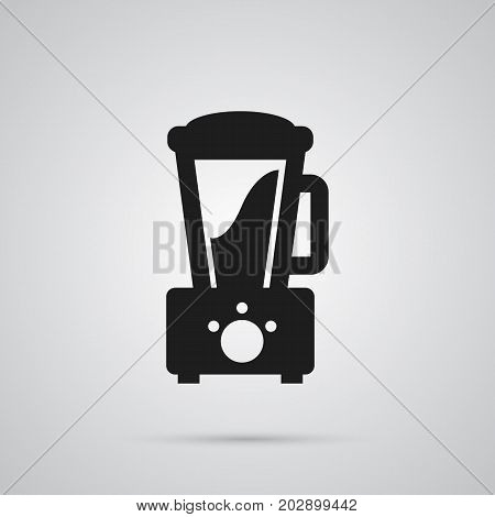 Vector Squeezer Element In Trendy Style.  Isolated Juicer Icon Symbol On Clean Background.