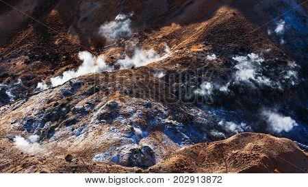 Sulfur And Dirt At Jigokudani Hell Valley