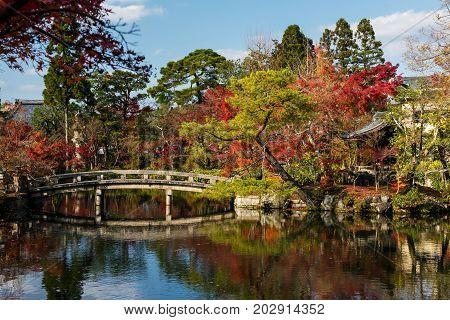 Eikan-do Temple With Autumn Garden, Kyoto