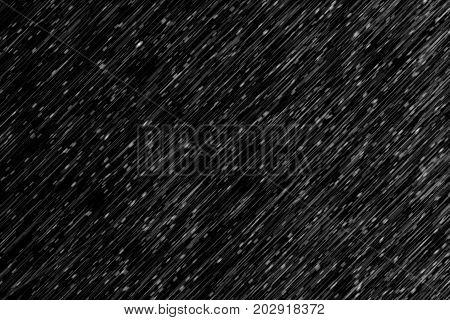 Rain Effect Cross Wind On Black For Screen Overlay Photo Retouching