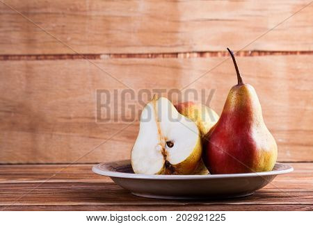 Ripe Fresh Pear