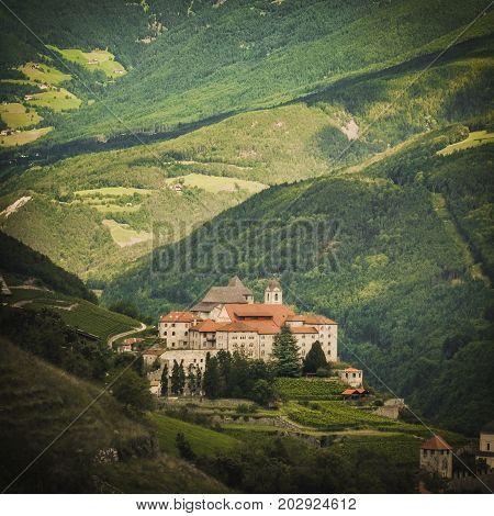 Monastero di Sabiona (Säben abbey) Trentino Alto Adige Italy