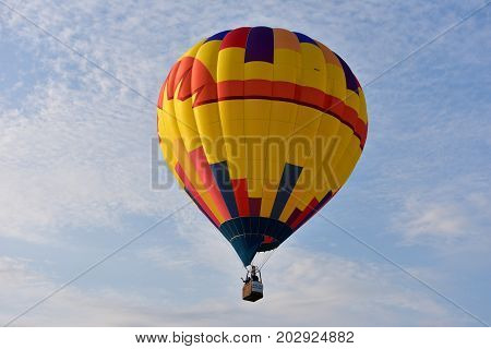 Lincoln, Illinois - Usa - August 25, 2017: Lincoln Balloon Festival 2017
