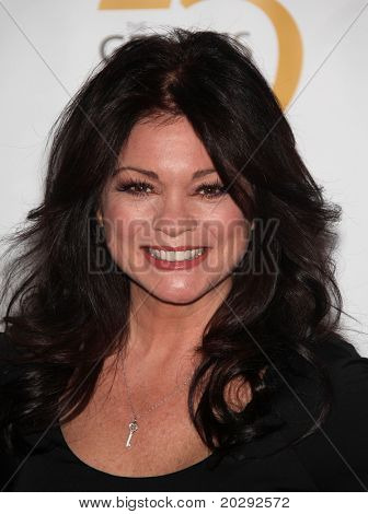 LOS ANGELES - MAR 19:  Valerie Bertinelli arrives to the 25th Annual Genesis Awards on March 19, 2011 in Century City, CA