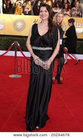 LOS ANGELES - JAN 30:  Julia Ormond arrives at the the SAG Awards 2011 on January 30, 2011 in Los Angeles, CA