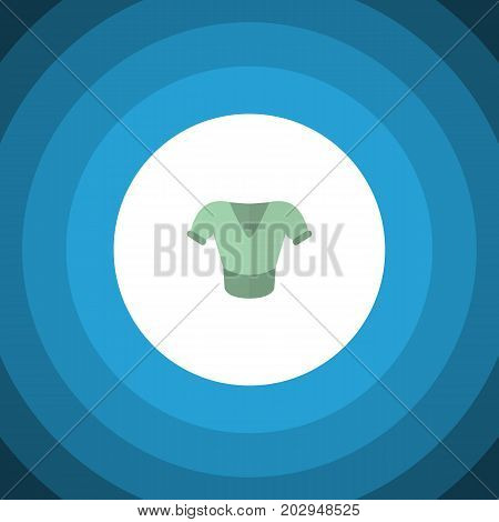 Casual Vector Element Can Be Used For Shirt, Blouse, Clothes Design Concept.  Isolated Blouse Flat Icon.