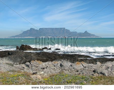 FROM BLOUBERG STRAND, CAPE, TOWN, SOUTH AFRICA