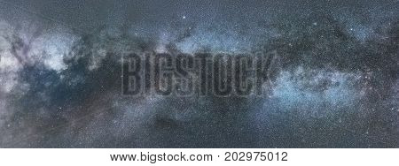 Milky way on Night sky. Milky way.