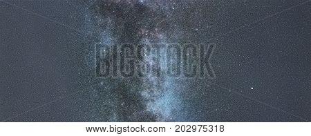 Milky way on starry sky. Milky way.