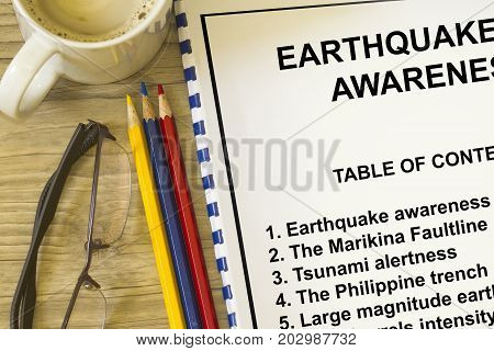 Earthquake Awareness