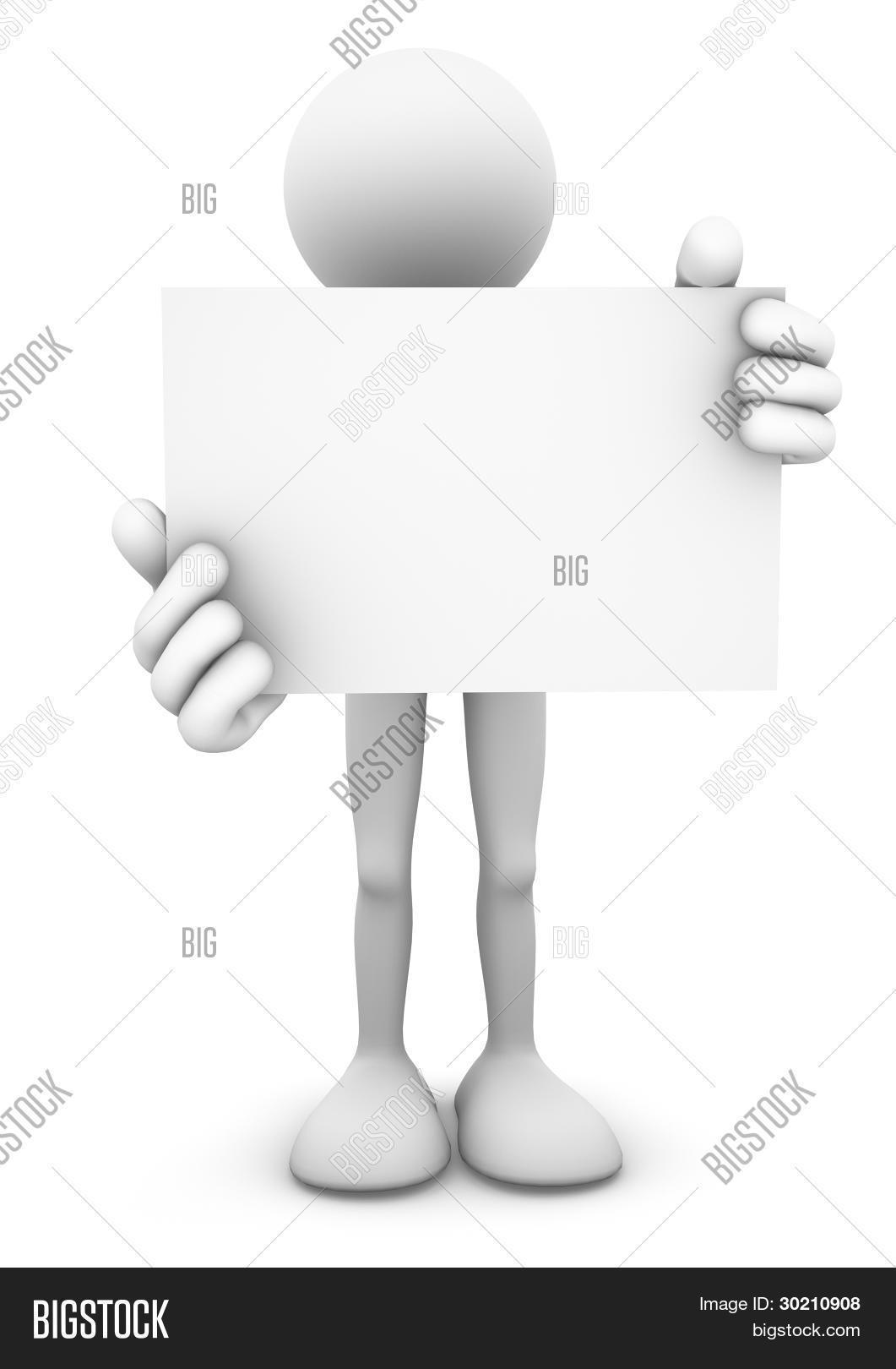 3d Stick Figure Person Image Photo Free Trial Bigstock