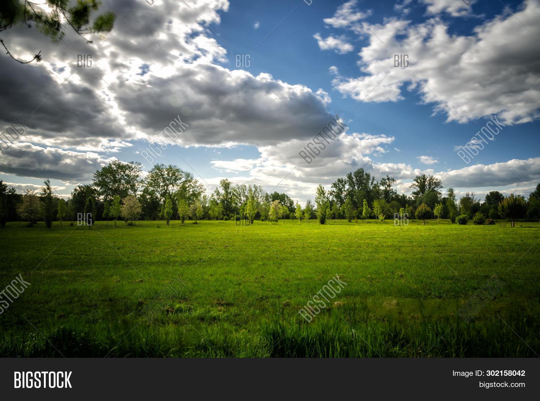 Vibrant Landscape Image Photo Free Trial Bigstock