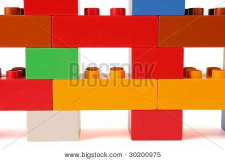 Plastic wall