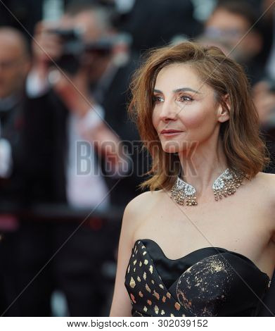 Clotilde Courau attends the screening of