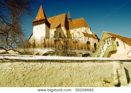 Fortified church of Biertan, Transylvania, Romania