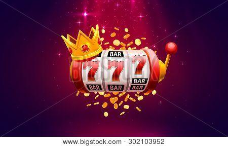 Casino 777 Slot Vector Photo Free Trial Bigstock