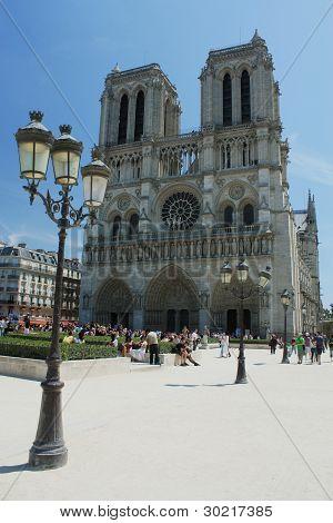 France. Paris. Notre Dame de Paris