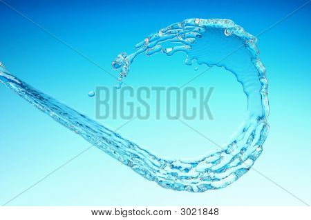 Flowing Water Stream