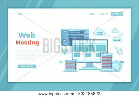 Web Hosting, Data Security, Сloud Computing Storage, Information Processing, Database, Network Conne