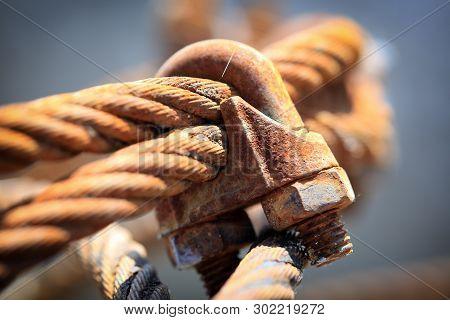 Old Metal Rope