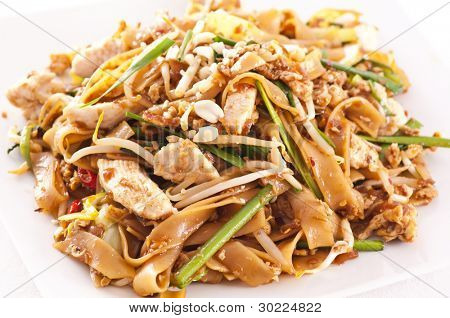 PAd Thai with chicken poster