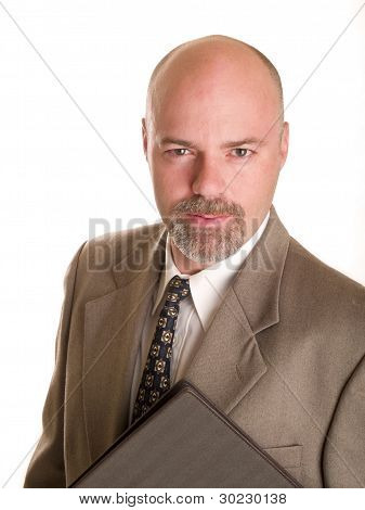 Fashion - Men - Businessman Holding Notebook