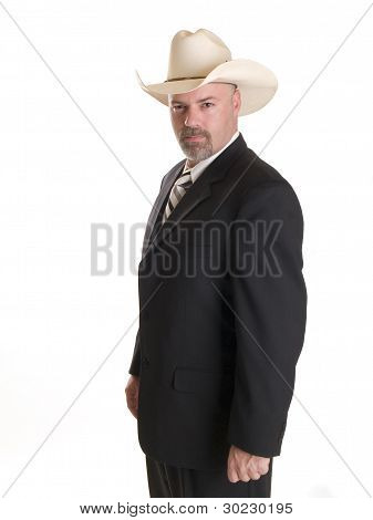 Cowboy Businessman