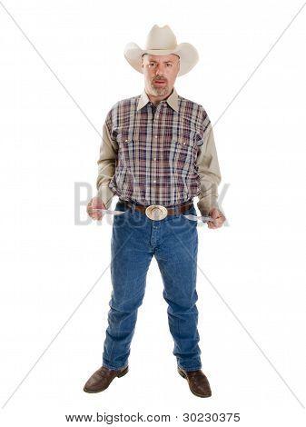 Rompió el vaquero con bolsillos resultada