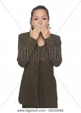 Businesswoman - Speak No Evil