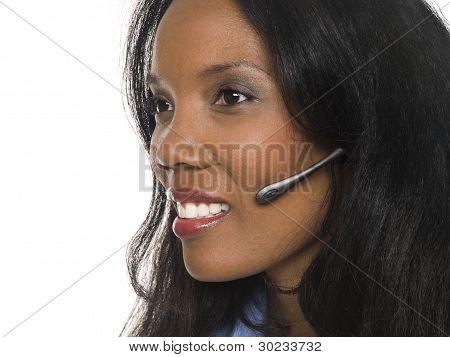 Businesswoman - Telephone Operator