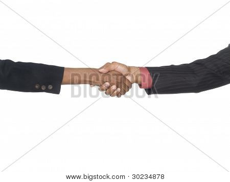 Businesspeople - Handshake Seal The Deal