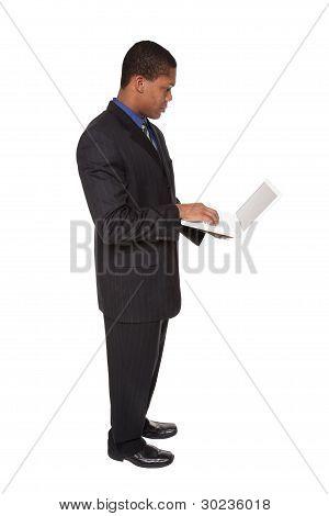 Businessman - Confident Laptop