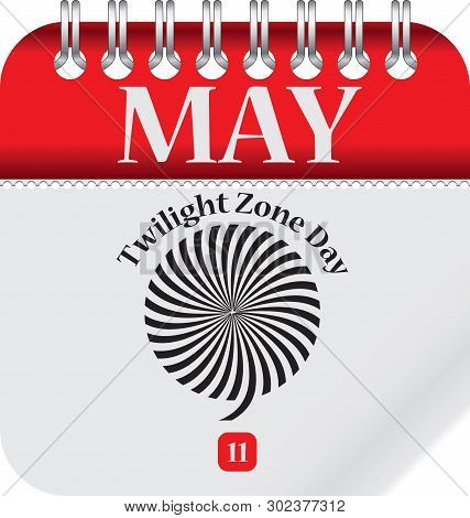 Calendar With Date Twilight Zone Day - May 11