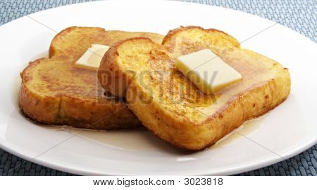 French Toast With Butter