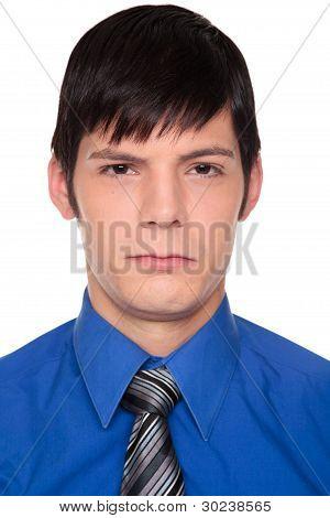 Expressions - Upset Caucasian Businessman
