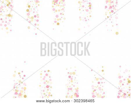 Rose Gold Confetti Vector Photo Free Trial Bigstock