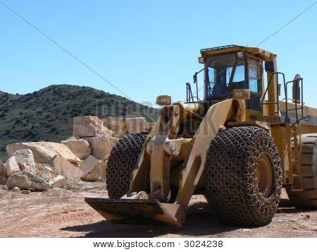 Yellow Construction Vehicle