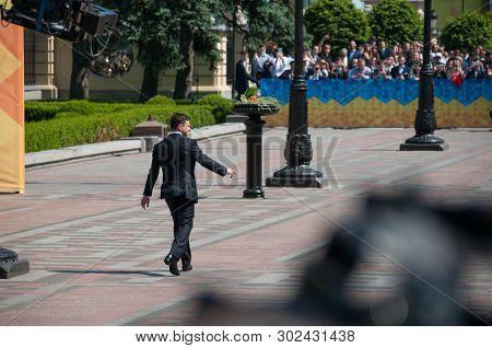 Kyiv, Ukraine 20 May 2019. Inauguration Of The President Of Ukraine Volodymyr Zelensky..
