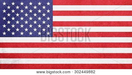 United States Of America Flag / Vintage Usa Flag - American Flag